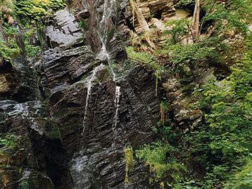 Rund um Wasserfall